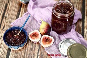 ריבת תאנים-מעדן וגם כתוספת לרטבים ולתבשילי בשר, ועוף | עיבוד ממחושב: שולי סונגו©