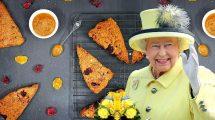 סקונס חורפיים ליד התה - המלכה אליזבת מאשרת | עיבוד צילום: שולי סונגו